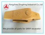 Supporto 12657353p del dente della benna di Sany per l'escavatore idraulico di Sany Sy225 Sy235