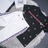 형식 소년의 최상 짧은 소매 한 벌 T-Shir