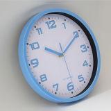 Moda europea marco de metal simple reloj de pared