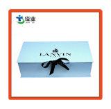 Caja de regalo personalizados de papel con cinta de opciones para los Cosméticos