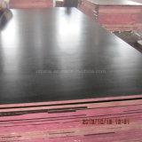 18mm de alta calidad una vez caliente pulsando la película de material de construcción de madera contrachapada frente