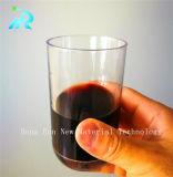 美しく大きい水晶赤ワインのコップ