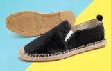 Nuevo diseño de cáñamo planas zapatos hombres
