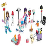 Custom American Girl Construction Set Calendario de Adviento