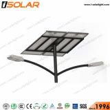 Isolar Soncap Certified 110W LED de Energía Solar de la luz de carretera