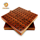Salle de répétition en bois perforé Panneau acoustique pour votre sélection