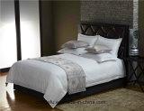 고정되는 호텔 침구는 1cm 공단 줄무늬 침대 시트를 골라낸다