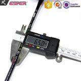 675mm Exercice Sport adulte jeu de raquette de badminton de fibres de graphite