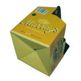 El papel impreso personalizado embalaje caja de zapatos