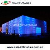 Надувные для использования вне помещений при выставке Cube палатка со светодиодной подсветкой