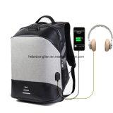 Distribuidor grossista de carregamento USB Designer Computador Antifurto escolar/sacos de Laptop mochila de negócios