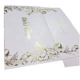 Роскошный белый документ косметической упаковки с логотипом