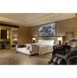 PVC偽の天井デザイン木製のホテルの寝室の家具セット
