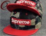 Tissu cuir militaire Fashion Snapback Loisirs Hat (01172)