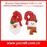 De Materiële Stof van de Hoepel van de Deur van Kerstmis van de Decoratie van Kerstmis (zy14y107-1-2)