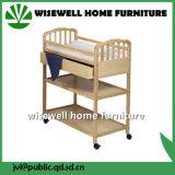 固体マツ木赤ん坊の家具の変更の箱