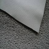 esteira dobro do assoalho do PVC da cor 3G com revestimento protetor do diamante