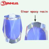 Resina Epoxy desobstruída para o frasco de cristal roxo