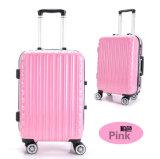 耐久旅行荷物またはスーツケースまたはトロリー袋セットを形成するブラウンの波