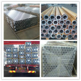 Rundes Aluminiumgefäß, rundes Aluminiumrohr
