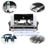 Escritorio visual Chip SMT Mounter coger y colocar la máquina Línea de producción SMT