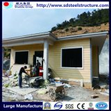 サイトのキャンプのための熱い販売ライト鉄骨構造のプレハブの家