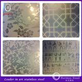 Placa de pared del acero inoxidable de los surtidores de China para la decoración