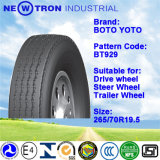 Todo el neumático sin tubo radial de acero 265/70r19.5 del neumático TBR del carro
