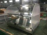 Hw-500 Vitrine d'affichage plus chaudes d'aliments pour la restauration de l'équipement