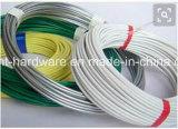 Fio de ligação galvanizado revestido de PVC/Arame