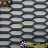 Estampación y estiramiento suspendida del techo Ampliado de malla metálica decorativa