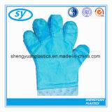 Qualitäts-konkurrenzfähiger Preis Wegwerfplastik-PET Handschuhe