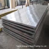 Placa de aço inoxidável laminada 317
