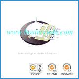 Potentiomètres de molette pour le matériel radioélectrique d'écouteur