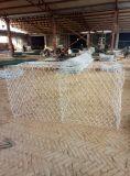 Gabionの熱い浸された電流を通された網