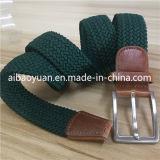 Accessoires Appareal vert profond de la courroie élastique tressé
