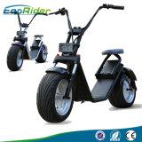 """scooter électrique de Harley de batterie au lithium de 60V 12ah avec du ce, pneu de graisse de pouce 18 """" *9.5"""