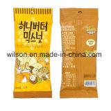 Cajus coreanos sul e máquina de empacotamento automática Nuts do alimento