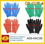 Guanto resistente tagliato dell'acciaio inossidabile (A08-HAC09)