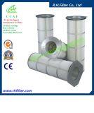 Cartucho de filtro de aire de poliéster para el colector de polvo