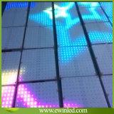 Iluminación GRB color del disco de DJ LED Pista de baile