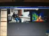 4-6kmの夜間視界IR PTZ熱IPのカメラ