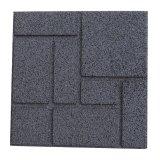Los azulejos de goma que se enclavijan reciclan el azulejo de goma/el azulejo de suelo de goma antirresbaladizo