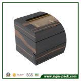Причудливый черная деревянная коробка вахты с 5 шлицами
