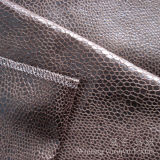 Tissu en cuir composé de Suedette de tissu de polyester pour le sofa