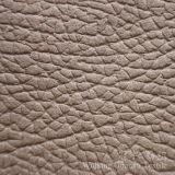 Tessuto del cuoio impresso della pelle scamosciata del poliestere per il sofà