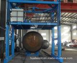Remolque de la máquina de aluminio del tanque de combustible de soldadura