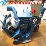Máquina recta durable del chorreo con granalla de la liga