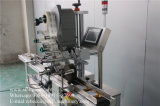 Машина для прикрепления этикеток стикера польностью автоматической пластичной верхней части чашки слипчивая