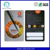 Cartão de PVC personalizado com plástico Cmyk 2017